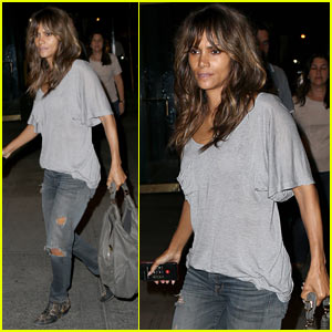 Halle Berry Grabs Dinner with Photographer Cliff Watts