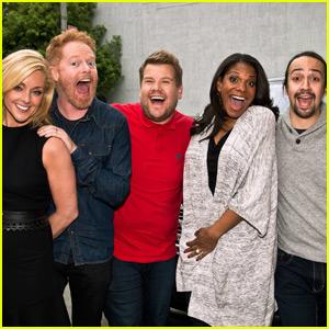 James Corden Does 'Carpool Karaoke' with Broadway Stars Before the Tony Awards!