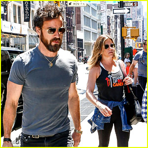 Jennifer Aniston & Justin Theroux Continue Their New York Trip