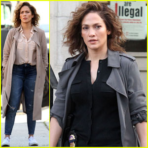 Jennifer Lopez Gets Serious With Dayo Okeniyi on Set