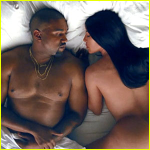 kanye west music video kim kardashian