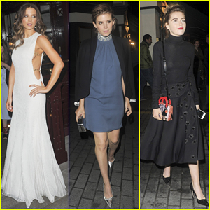 Kate Beckinsale & Kate Mara Switch It Up At Christian Dior Cruise After Party!