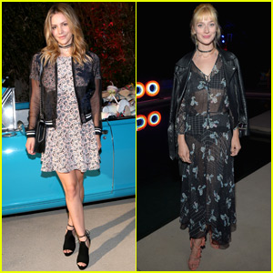 Katharine McPhee Has a Hot LA Night With Caitlin Fitzgerald