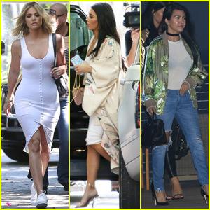 Kourtney Kardashian Has a Night Out in Malibu