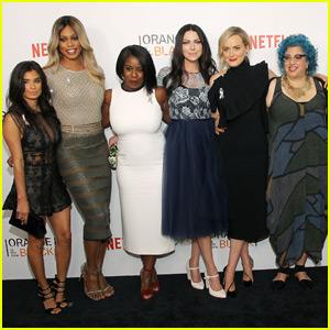 Taylor Schilling, Laverne Cox & 'OITNB' Cast Celebrate Season Four Premiere
