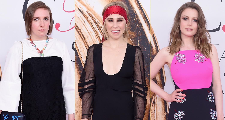 2019 year look- Dunham lena shows stripes tanya taylor