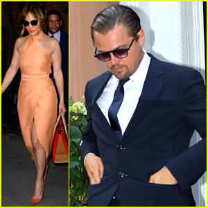 Leonardo DiCaprio & Jennifer Lopez Attend Hillary Clinton Fundraiser in NYC!