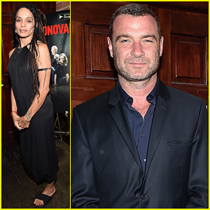 Liev Schreiber & Lisa Bonet Celebrate Season 4 Of 'Ray Donovan'!