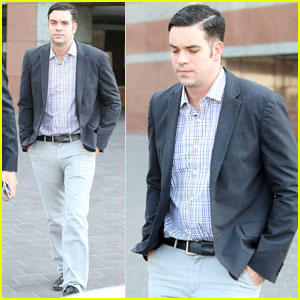 Mark Salling Heads Out Of Court Following Preliminary Hearing