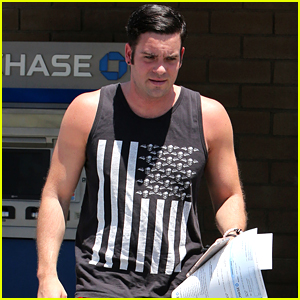 Mark Salling Leaves Bank with $100,000 Check After Indictment