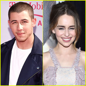 Nick Jonas Embarrassed Himself When Meeting Emilia Clarke