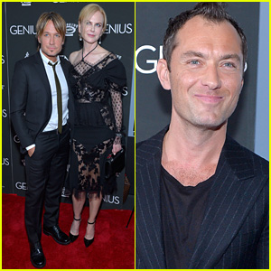 Nicole Kidman Gets Keith Urban's Support at 'Genius' Premiere!