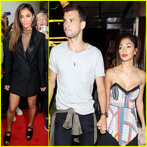 Nicole Scherzinger & Boyfriend Grigor Dimitrov Show PDA for London Date Night