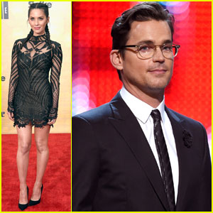 Olivia Munn & Matt Bomer Step Out for Guys' Choice 2016