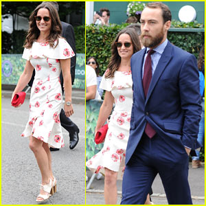 Pippa Middleton Turns Heads at Wimbledon!
