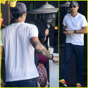 Pregnant Megan Fox Goes on Lunch Date with Brian Austin Green