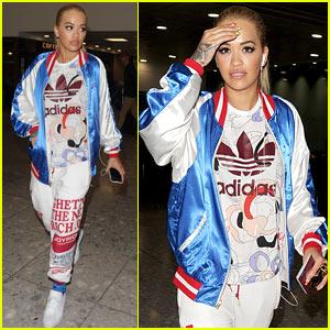 Rita Ora Rocks Her New Adidas Line