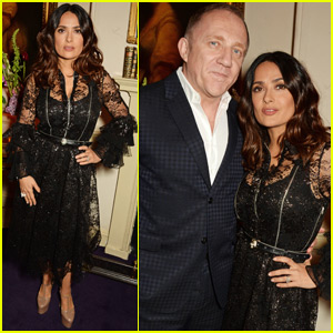 Salma Hayek Tried to Convince Her Husband She Was Having an Affair to Save a Dog