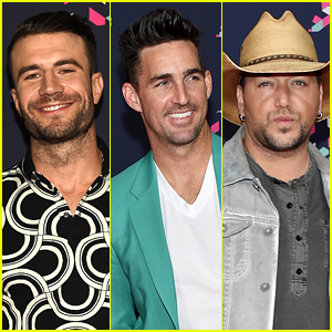 Sam Hunt, Jake Owen, & Jason Aldean Hit Up CMT Awards 2016