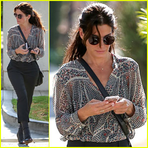 Sandra Bullock Spotted on a Rare Casual Outing