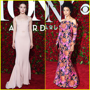 Saoirse Ronan & Sophie Okonedo Attend the Tony Awards 2016