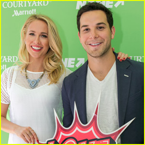 Skylar Astin & Fiancée Anna Camp Find Toronto's Best A Capella Group!