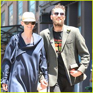 Tilda Swinton & Partner Sandro Kopp Hold Hands in NYC