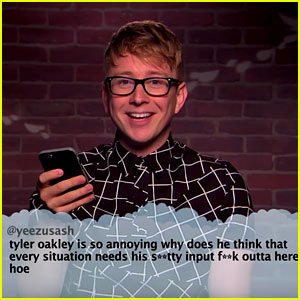 Tyler Oakley & More Social Stars Read 'Mean Tweets' (Video)