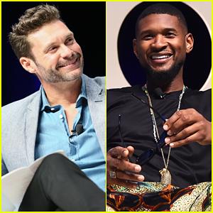 Usher & Ryan Seacrest Talk Future Plans At Cannes Lions Festival 2016!