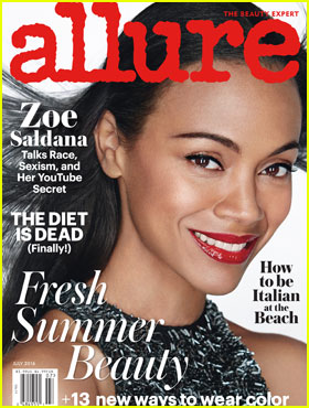 Zoe Saldana Was Once Told She Was Hired to 'Look Good in Your Underwear Holding a Gun'