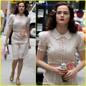 Zoey Deutch Finishes Shooting 'Rebel in the Rye'