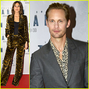 Alexander Skarsgard Brings 'Tarzan' Home to Sweden with Girlfriend Alexa Chung!