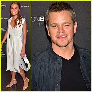 Alicia Vikander Was Scared of Matt Damon's Pranks During 'Jason Bourne' Filming!