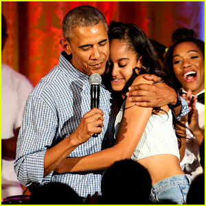 Barack Obama Sings 'Happy Birthday' to Malia on July 4 (Video)