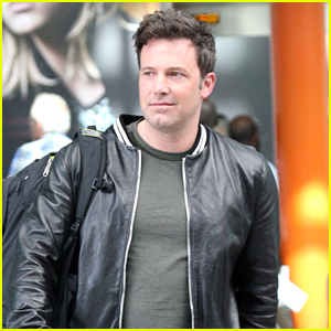 Ben Affleck Travels Back to London for 'Justice League'
