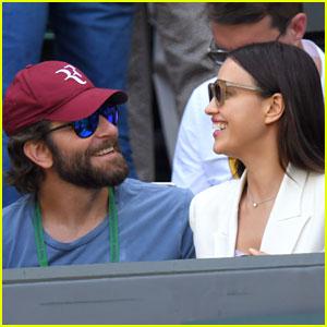 Bradley Cooper & Irina Shayk Have a Day Date at Wimbledon!