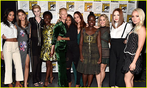 Brie Larson Joins the Women of Marvel for Epic Comic-Con Pic!