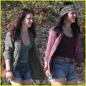 Britt Robertson Continues Filming Netflix 'Girlboss' Series