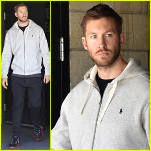 Calvin Harris Shares Behind-the-Scenes Pic from 'Hype' Video!