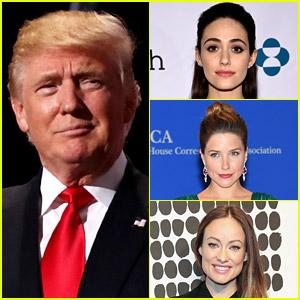 Celebrities Slam Donald Trump's RNC Speech: 'Not My Voice'