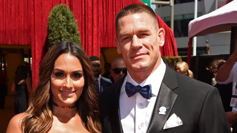 John Cena Walks Espys 2016 Carpet With Girlfriend Nikki