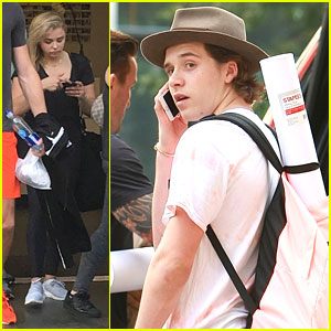 Chloe Moretz Steps Out For Workout Class After Her DNC Speech