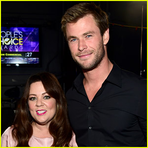 Chris Hemsworth Shares Amazing 'Ghostbusters' Set Photo with Melissa McCarthy