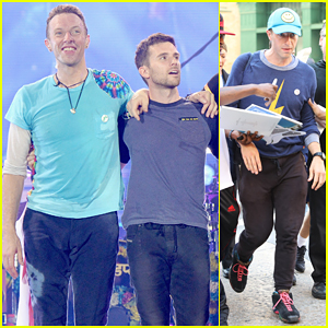 Chris Martin Brings Michael J. Fox On Stage for 'Back to the Future' Moment at Coldplay Concert