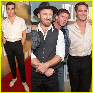 Chris Pine & Ben Foster Hit Texas For 'Hell or High Water' Premiere!