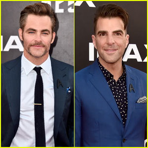 Chris Pine & Zachary Quinto Bring 'Star Trek Beyond' to San Diego With Idris Elba