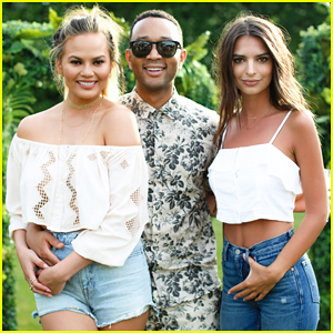 Chrissy Teigen Hosts REVOLVE Fourth Of July Bash With John Legend & Emily Ratajkowski!