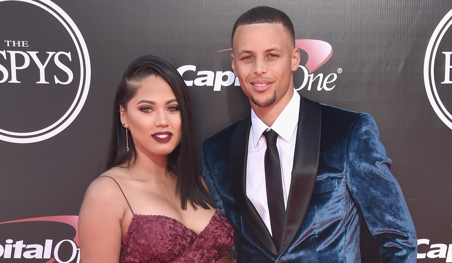 Stephen Curry Amp Wife Ayesha Hit The Espys 2016 Red Carpet