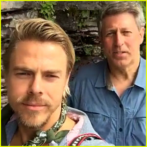 Derek Hough Snapchats His National Park Adventures!