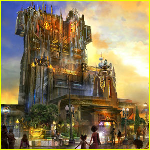 Disneyland's Tower of Terror to Become 'Guardians of the Galaxy' Ride